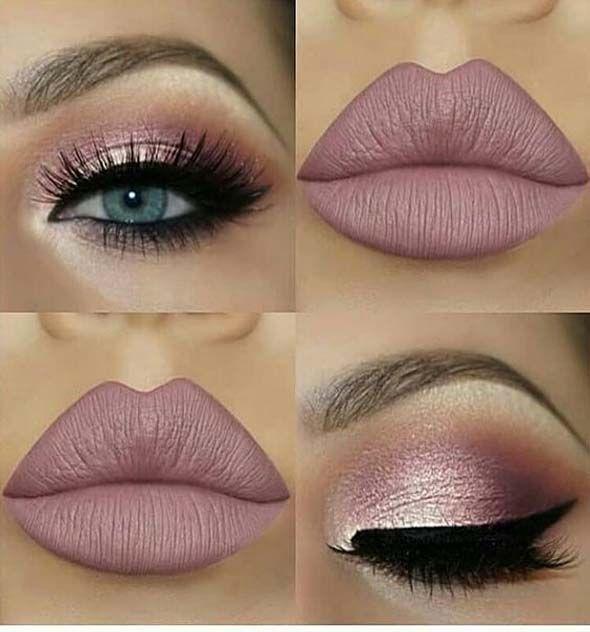 Des idées de maquillage incroyables pour le réveillon du Nouvel An – – prom makeup