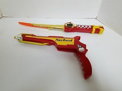 Power Rangers Ninja Storm Red Samurai Sword/Gun