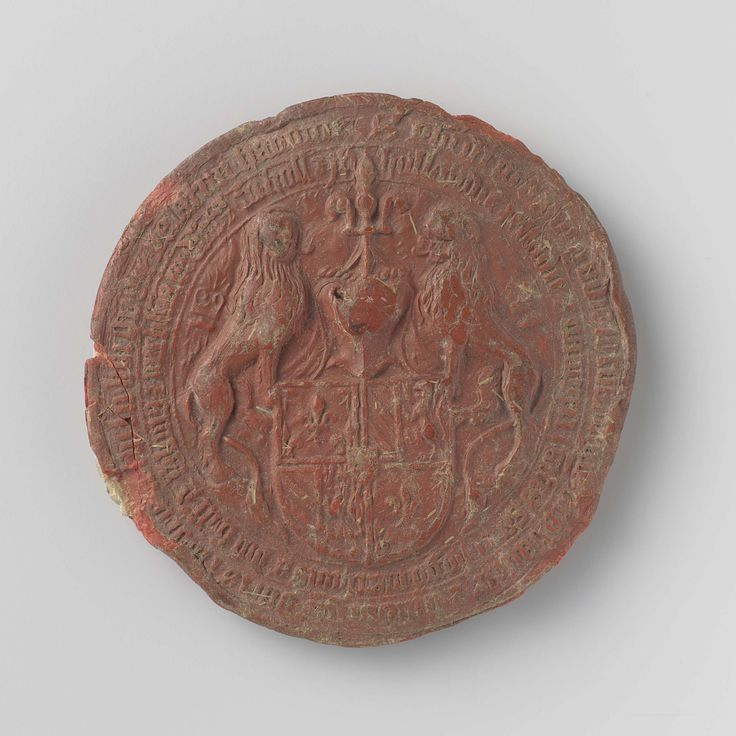 Seal of Philip the Good, Duke of Burgundy, ca. 1433-1467.