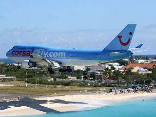 The Amazing World : Princess Juliana International Airport, Simpson Ba...