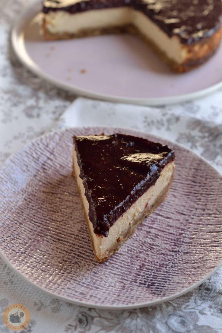 Praliné Paradicsom: Téli fűszeres-szilvás sajttorta