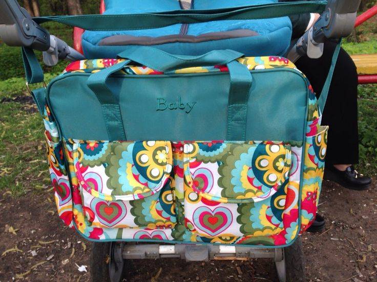 Multi-Color Diaper Bag