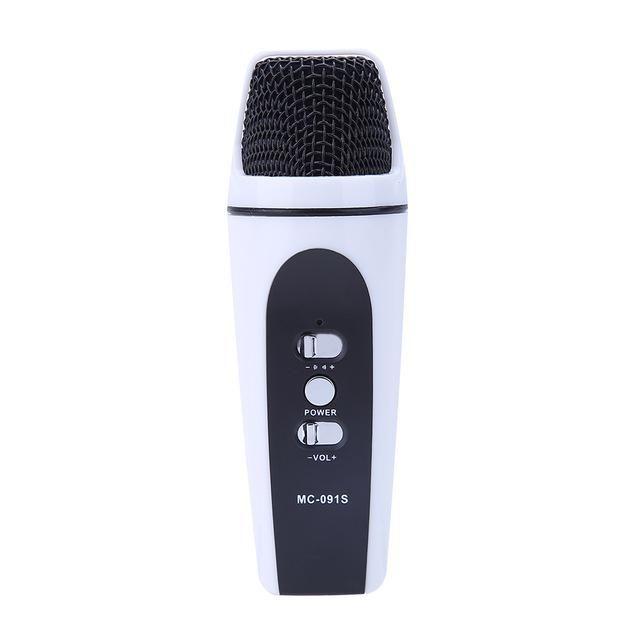 Super Mini Audio Microphone Portable Mobilephone Karaoke