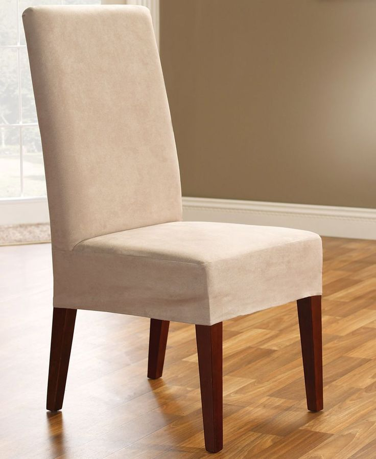 Slip covers dining room chairs