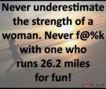 too bad i don't run any longer - but i do have 4 kids can that be my slogan?