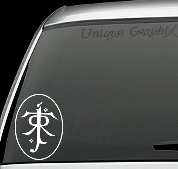 Lord of the rings JRR Tolkian Symbol vinyl decal sticker https://www.etsy.com/uk/listing/152573521/lord-of-the-rings-jrr-tolkian-symbol?ref=related-6