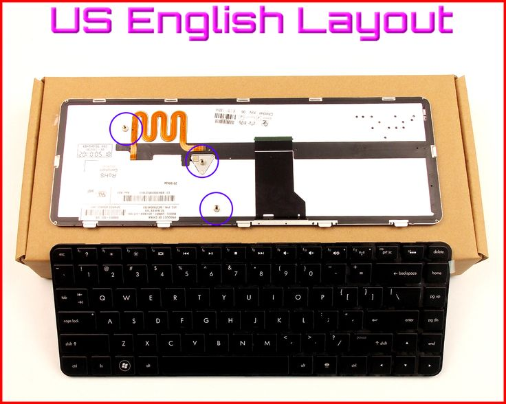 New Keyboard US English Version for HP Pavilion DV5-2043CL WQ753UA 1265DX XZ298UA DV5-2129WM XH007UA XH007UAR Laptop W/Backlit