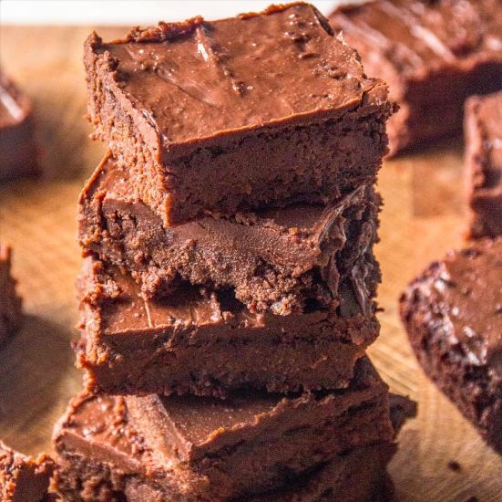 New and improved sweet potato brownies coming your way very soon - way more chocolaty, so much gooier and with a fab new icing
