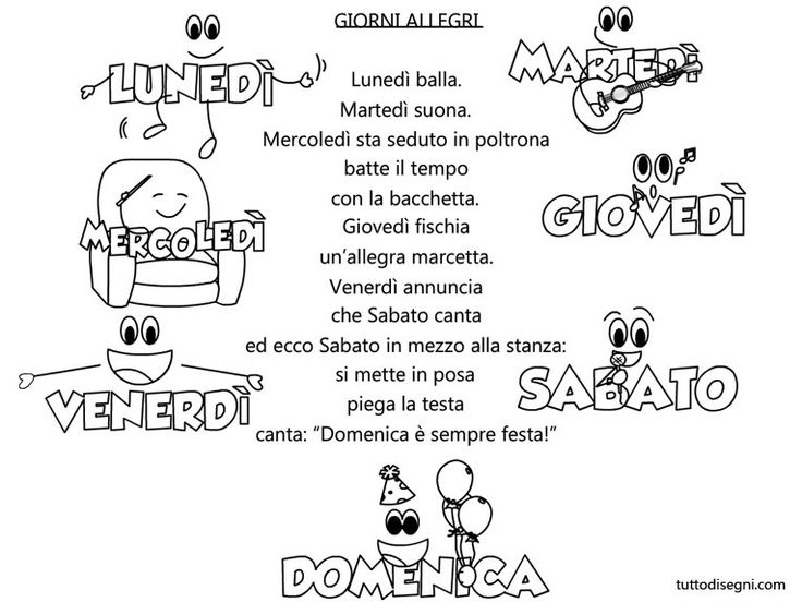 Favorito 142 best filastrocche images on Pinterest | Italian language  IQ58