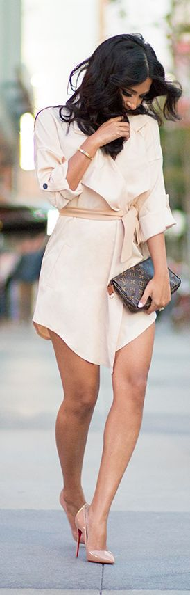 Shades Of Nude. Love this. I want all of it!
