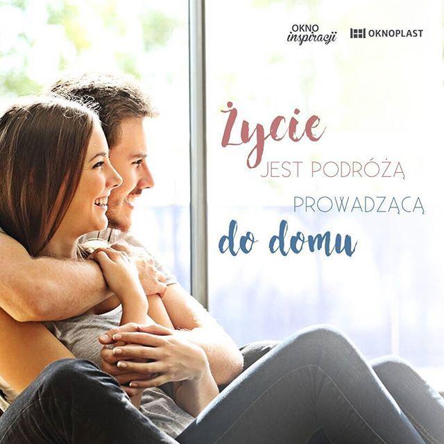 Do szczęśliwego domu. Ciepłego, bezpiecznego i jasnego. #Oknoplast #OknoInspiracji #dom #mieszkanie #szczęście #rodzina #miłość #milosc #okna #okna #para #polishcouple