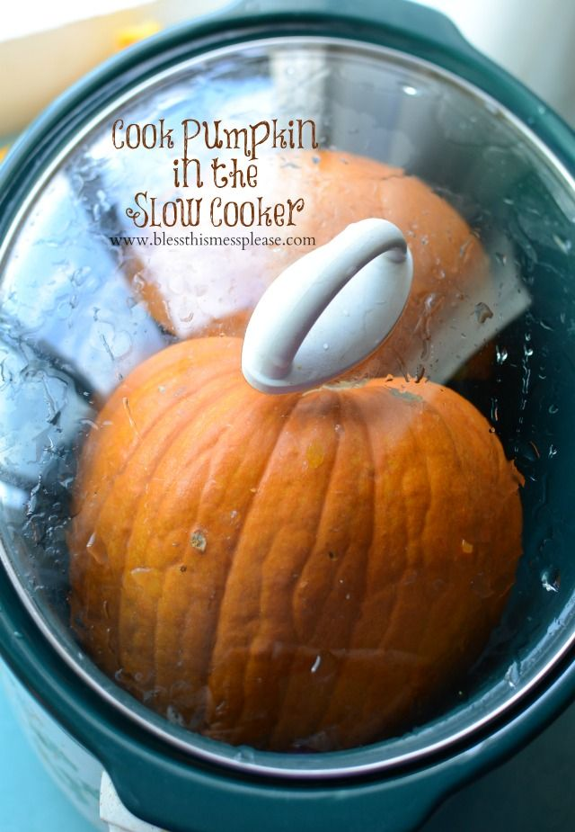 The best and easiest way to cook a pumpkin - tasty and cheaper than normal canned pumpkin!