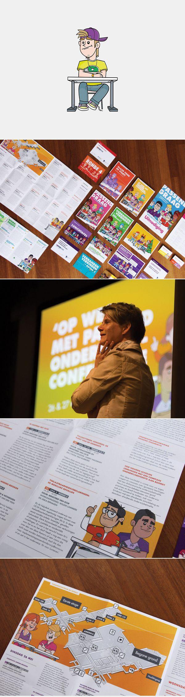 Opdracht: ontwikkeling van een visuele identiteit ter ondersteuning van het project Steunpunt Passend Onderwijs.
