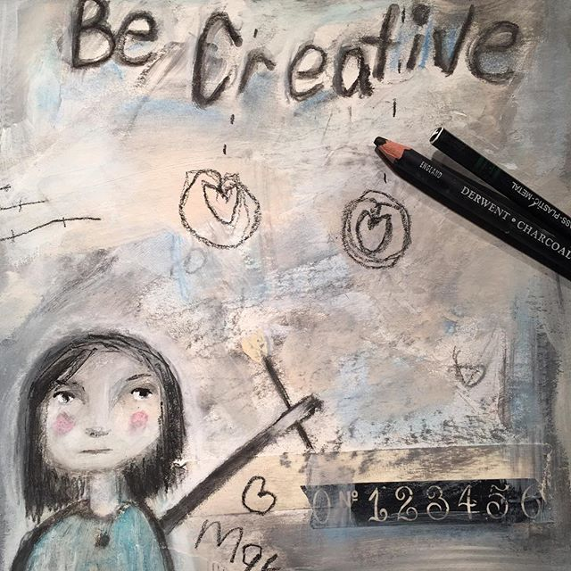 Just let your inner child out! #artjournal #mixedmediart #childlike #mixedmedia #charcoal #art #becreative #creative #paint #creativity #lykkeligkreativ #kreativ #kunst #acylics #pastels #artjournaling #artistic #artsy#artistoninstagran #painting #artwork #instaartsy #arttherapy #kunstnerisk #kunstnersjeler #kunstdagbok #kunstjournal