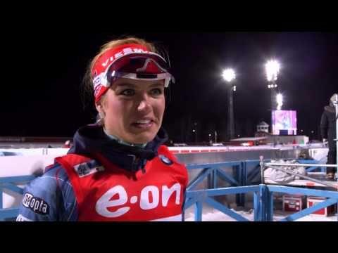 Gabriela Soukalova 5th in Ostersund 15K