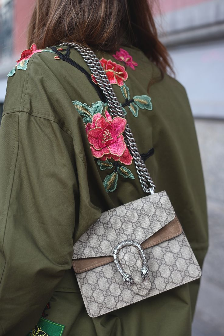 embroidered parka looks - Lady Addict