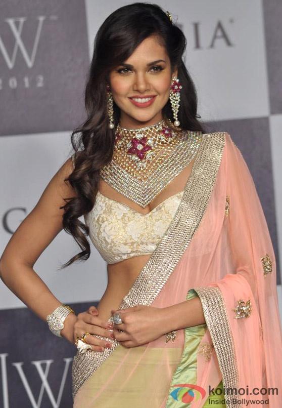 Esha Gupta in gorgeous lehenga choli
