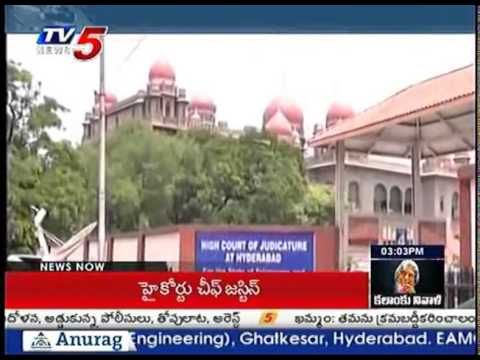 High Court Chief Justice Talk with Prathyusha After Discharge : TV5 News