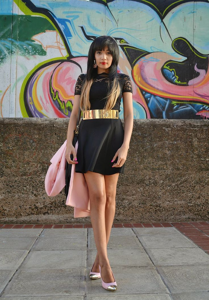 Black   Pink   Gold {OOTD}