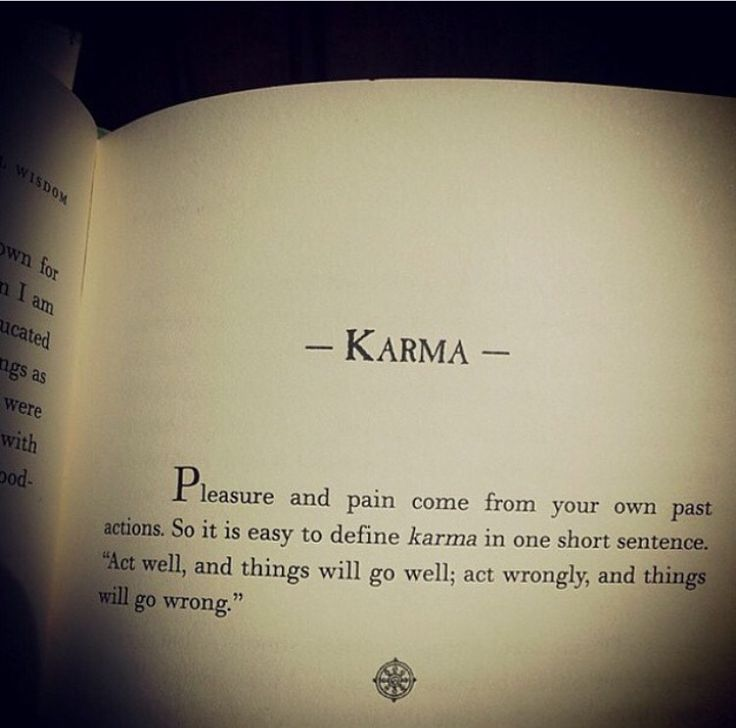 Karma Sayings And Quotes: Best 25+ Law Of Karma Ideas On Pinterest