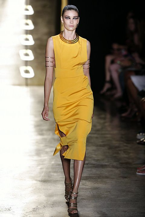 New York Fashion Week: Cushnie et Ochs Primavera/Verano 2015 -Fotos: marco severini.