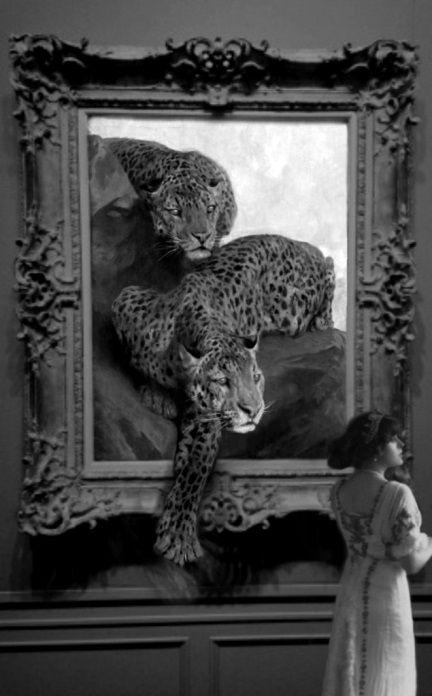Isely, Robin - z- Magic Painting (Leopards- Arthur Wardle, (b,1864)