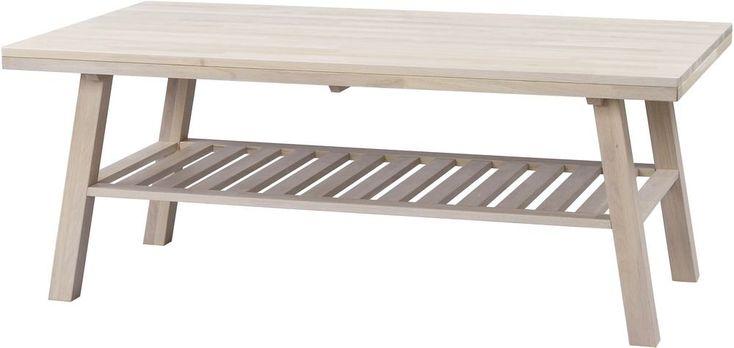 Alyssa soffbord - Whitewash ek - 3995 kr - Trendrum.se