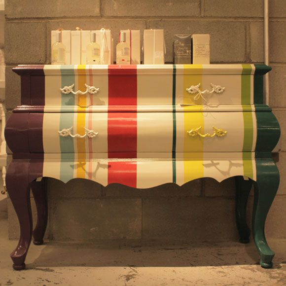 Good Paint (stripes) + Grandmau0027s Furniture
