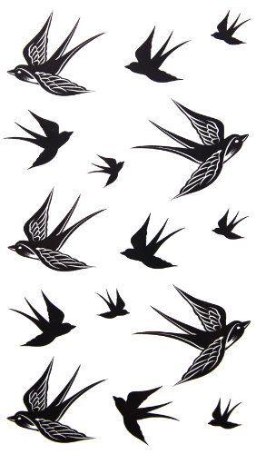 GGSELL 2012 new design New release temporary tattoo waterproof Swallow tattoo stickers by King Horse, http://www.amazon.com/dp/B009CILACI/ref=cm_sw_r_pi_dp_ccntrb0YZVD78
