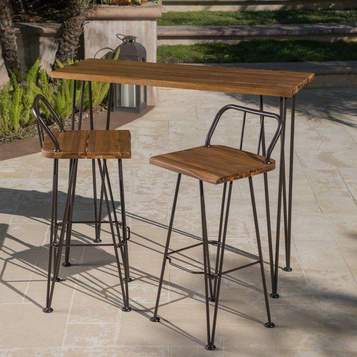 Loya Outdoor Bar Set Outdoor Bar Sets Patio Bar Set Outdoor