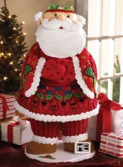 Bucilla Mary Engelbreit 3D Santa Claus Felt Applique Kit  $33.99 #maryengelbreit