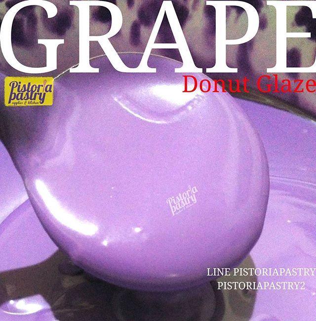 NEW ITEM  DONUT GLAZE GRAPE, Topping donat dengan rasa anggur yang khas  Kemasan repack 500gr Harga 29rb/pc  Halal mui  ORDER KE  Admin 1 LINE PISTORIAPASTRY WA 087889607670 Admin 2 LINE PISTORIAPASTRY2 WA 087775108990 NO PHONE CALL  GUNAKAN FORMAT ORDER  PENGIRIMAN DARI JAKBAR  #pistoriapastry #tanjungduren #jakartabarat #jualbahankue #jualdonutglaze #donatglaze #glaze #donut #halalmui