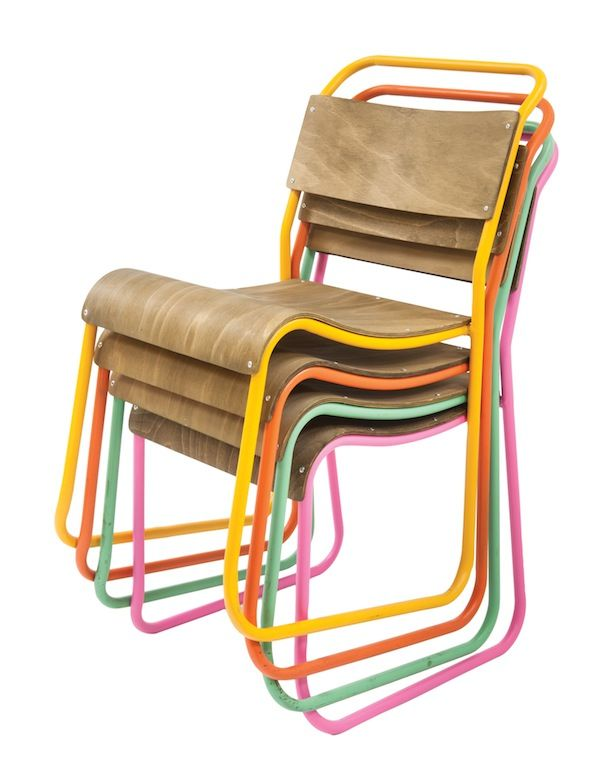 colourful school chairs | Corner Store