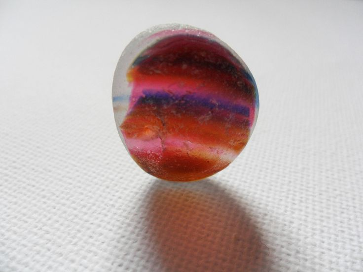 Stunning rare rainbow stripes pink purple amber seaham beach sea glass multi - Beautiful English beach find pieces by UKSeaGlassStore on Etsy