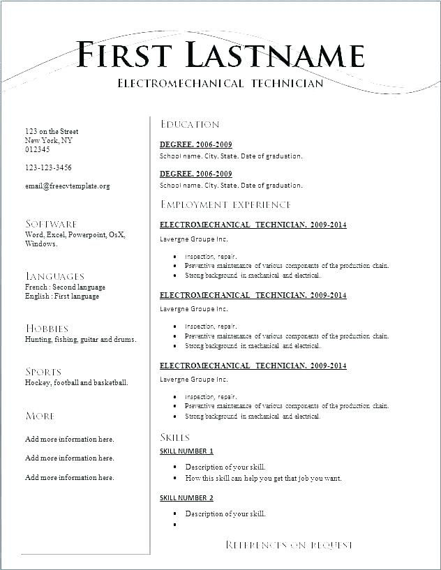 Resume Writing Online Free Resumes Builder
