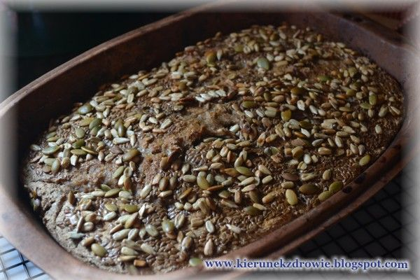 kierunek zdrowie: Chleb żytni razowy na zakwasie z ziarnami