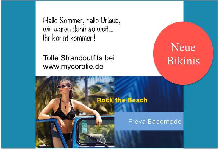 Tolle #Bademode und #Strandoutfits bei http://www.mycoralie.de