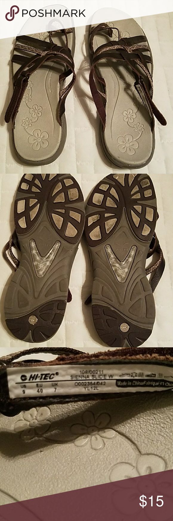 Sandals or shoes for hiking - Hitec Hiking Sandals