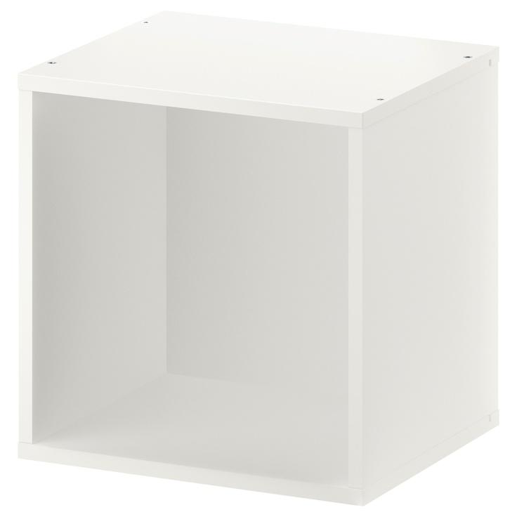 FÖRHÖJA Wall cabinet - white - IKEA