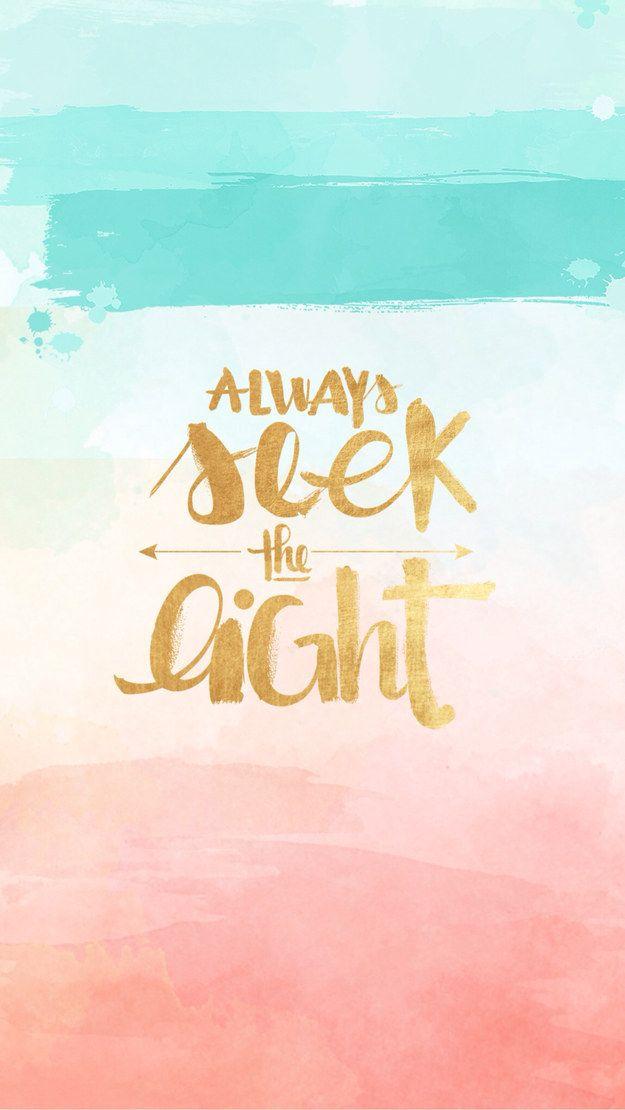 Always seek the light.....♡