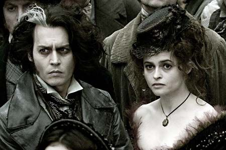"""""""We've done fifteen thousand films together, Helena and I. Without even saying anything or trying anything, we almost like try to out-weird each other."""" - Johnny Depp, Dark Shadows bonus features; """"I don't know how many times I've killed Helena in films. Tim constantly has me killing his wife in his movies. I don't know what that means."""""""