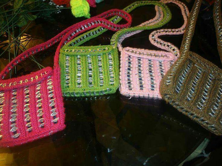 bolsos de celular en chapas