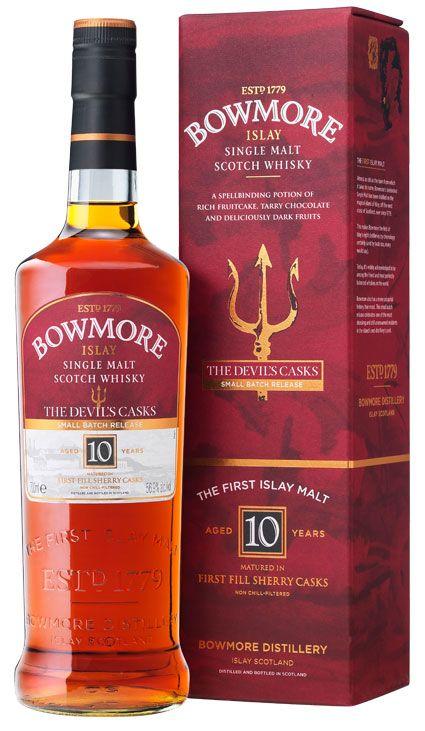bowmore devils casks whisky