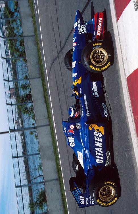 1995, Canada GP, Montreal, Olivier Panis, Ligier