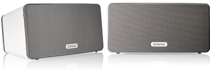 Sonos PLAY3 White (duo-setje)  Description: Sonos PLAY:3 White - set van twee speakers Blaas het dak eraf met deze Sonos PLAY:3 White alles-in-één speler. Dit compacte sexy speakersysteem is in elk interieur passend. De PLAY:3 is een HiFispeakersysteem met drie drivers waarmee de hele kamer gevuld wordt met geluid. Stream je hele muziekverzameling online muziekservices en radiostations en download de gratis app waarmee je deze Sonos PLAY:3 met je Android telefoon iPhone of iPad bedient! De…