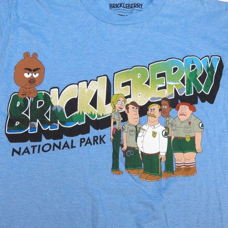 NEW BRICKLEBERRY NATIONAL PARK TV SHOW YUCKO HOWARD STERN WACK PACK T SHIRT Sz S #RippleJunction #GraphicTee #Everyday