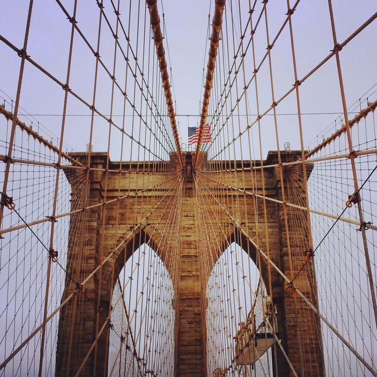 Brookly Bridge...bad weather, great architecture, New York, USA - Architecture & Design