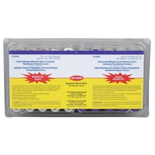 Duramune Max 5-CVK-4L 25 single dose pkg.- Fort Dodge - http://www.carhits.com/duramune-max-5-cvk-4l-25-single-dose-pkg-fort-dodge/