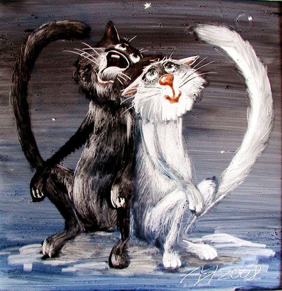 Коты и кошки Анатолия Ярышкина. Обсуждение на LiveInternet - Российский Сервис Онлайн-Дневников