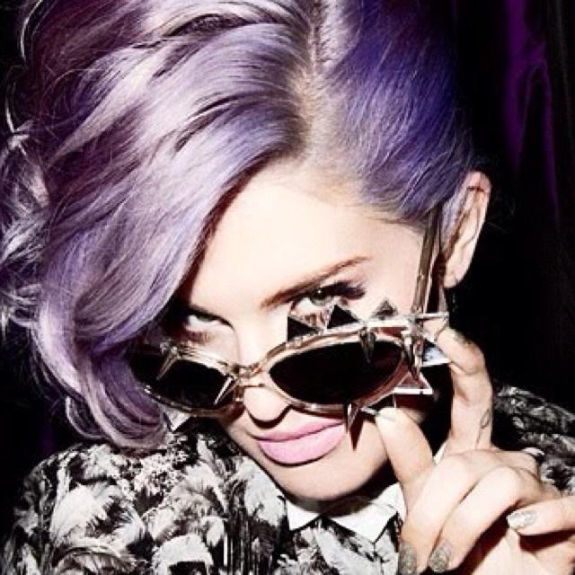 want my hair this colour soo bad!: Purple Hair, Hair Colors, Style, Haircolor, Dreams Hair, Kelly Osbourne, Lavender Hair, Sunglasses, Lilacs Hair